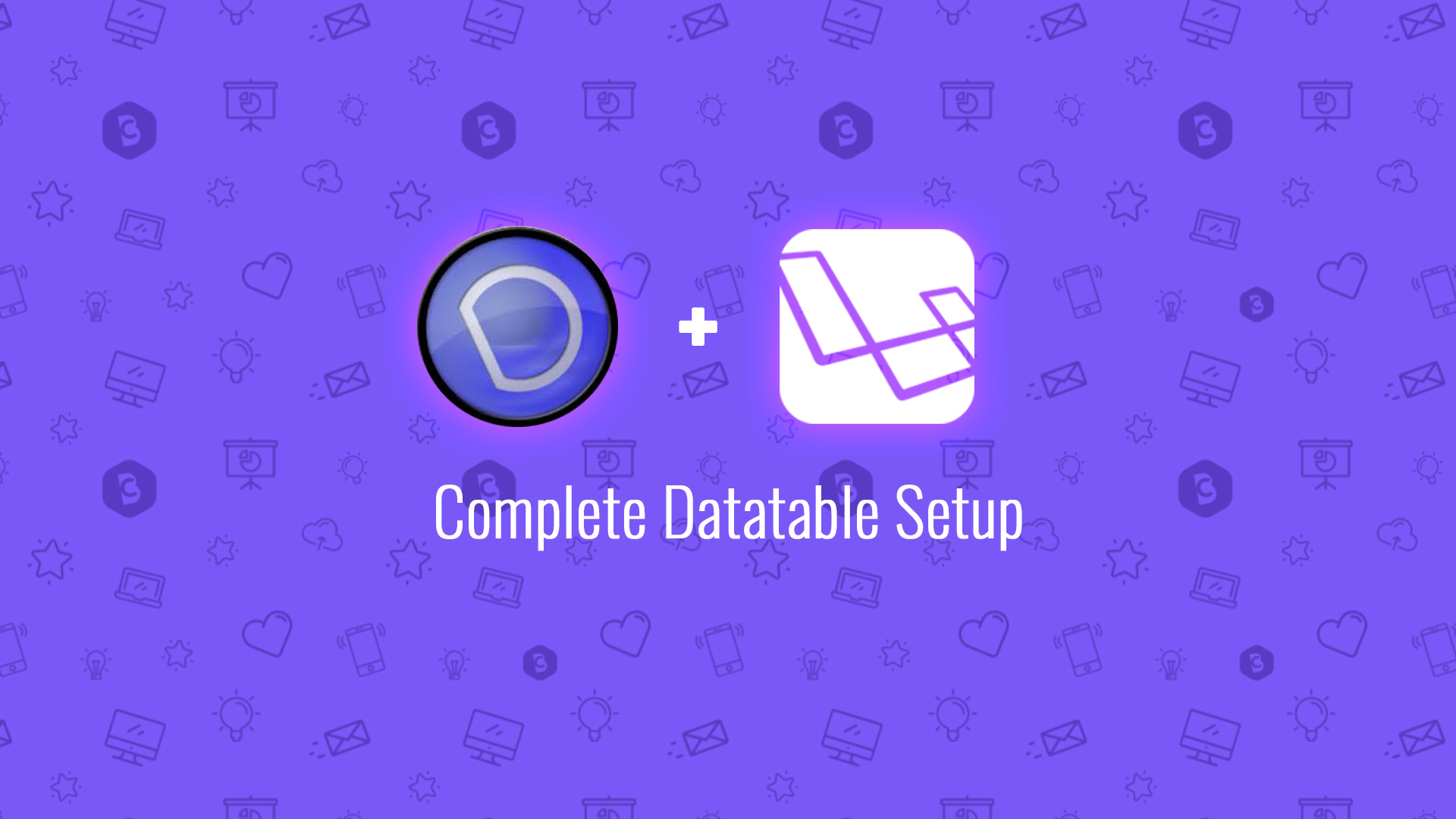 Complete Datatable Setup - Code Briefly
