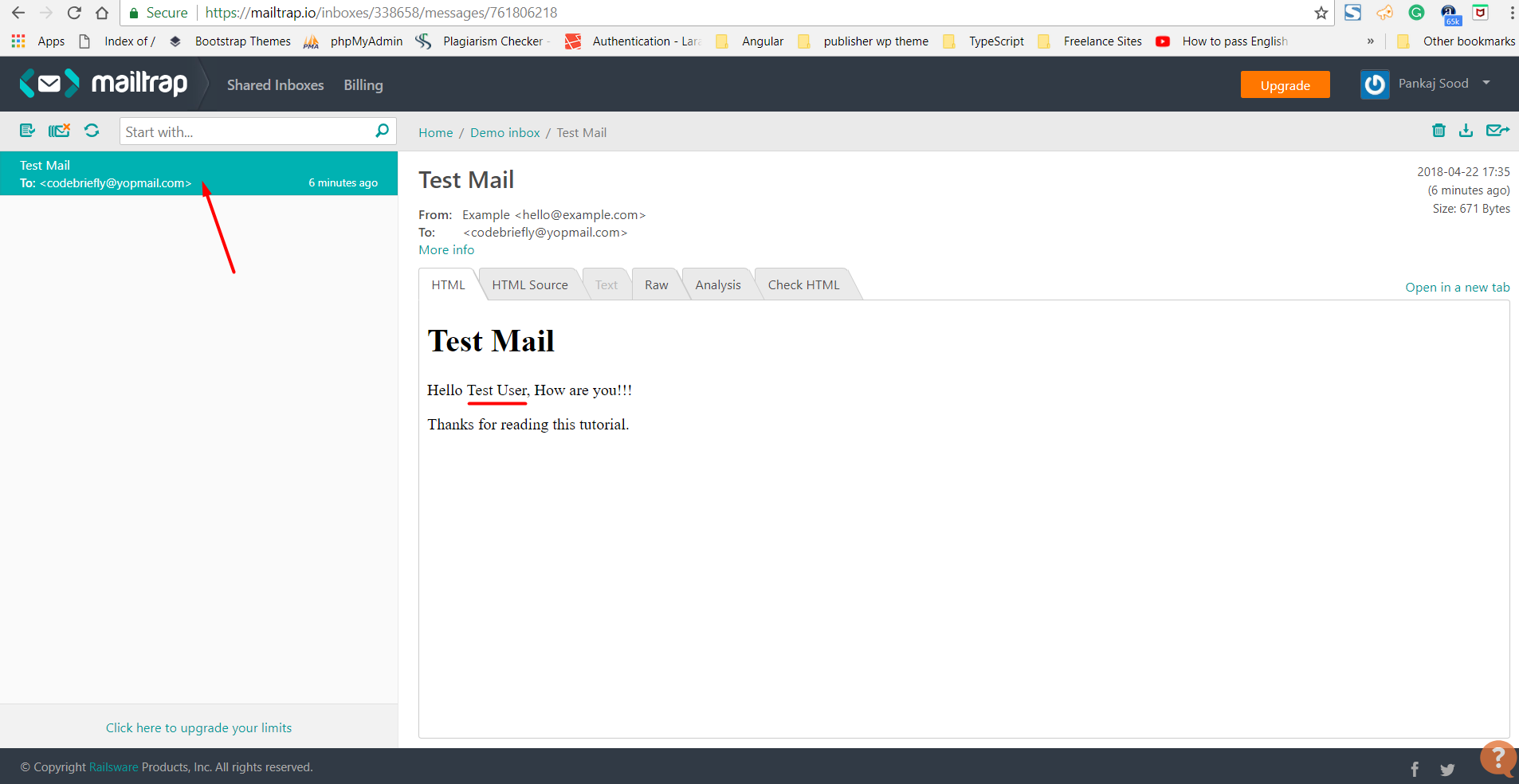 Handling Emails in Laravel Mailable - Code Briefly