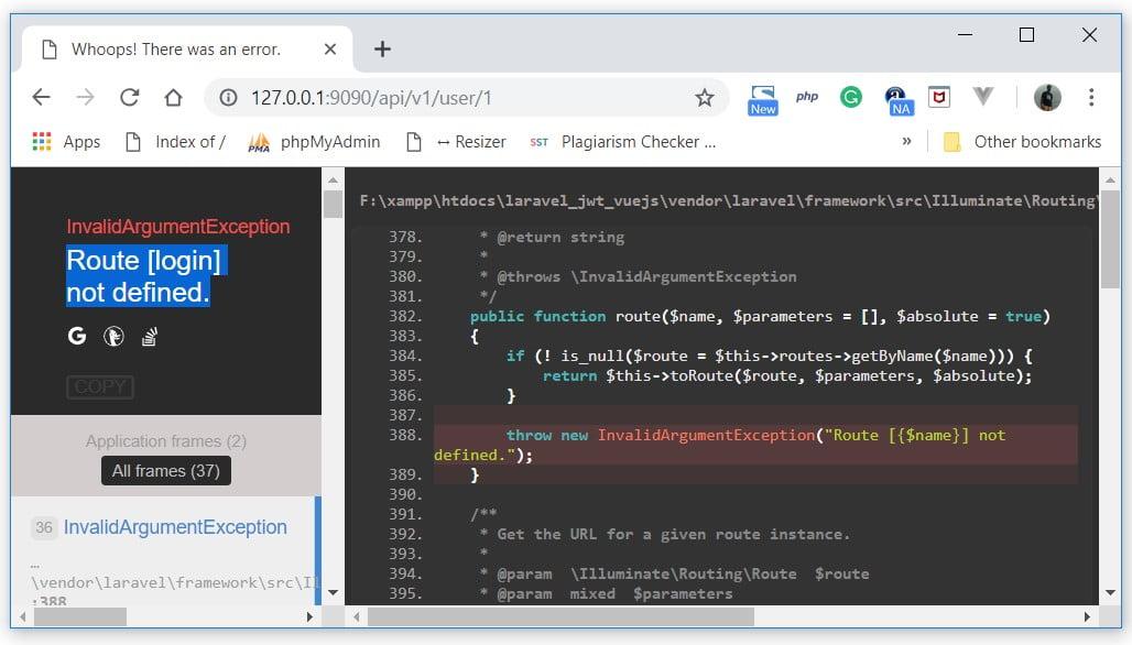 Laravel JWT Authentication - Vue Js SPA (Part 1) - Code Briefly